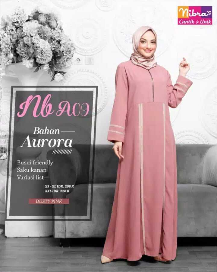 Gamis Nibras NBA 09 Dusty Pink