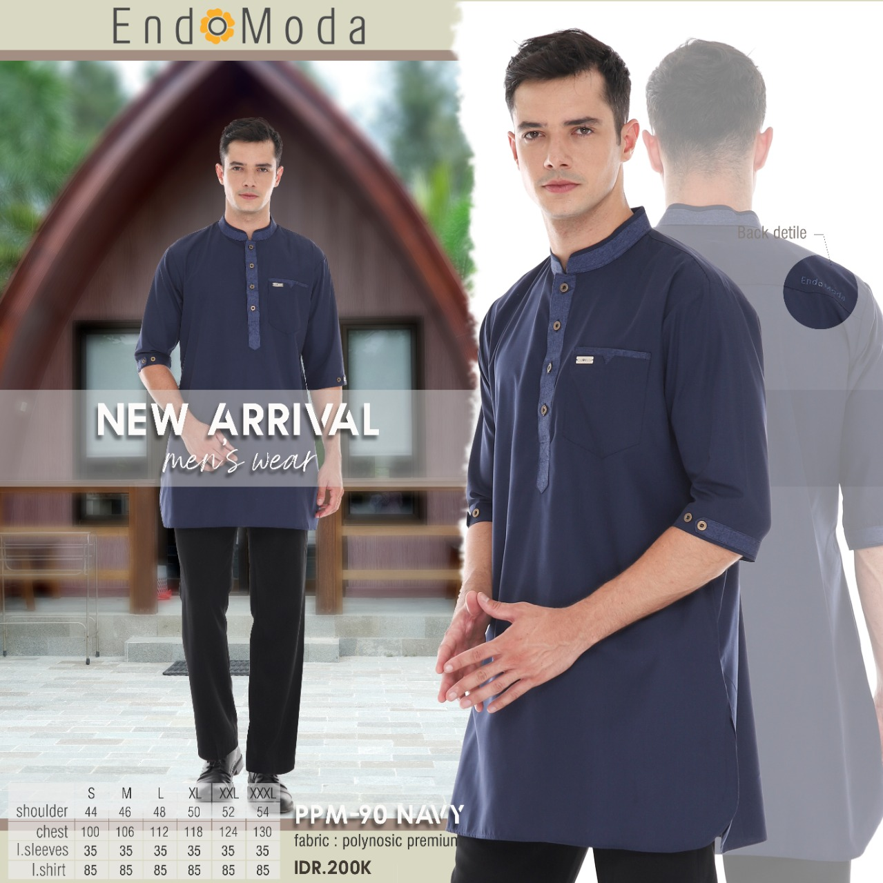 Koko Endomoda PPM 90  Navy