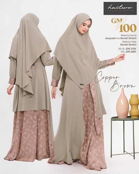 Gamis Haitwo GM 100 Cooper Brown