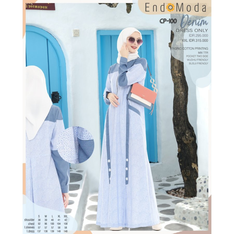 Gamis Endomoda CP 100 Denim