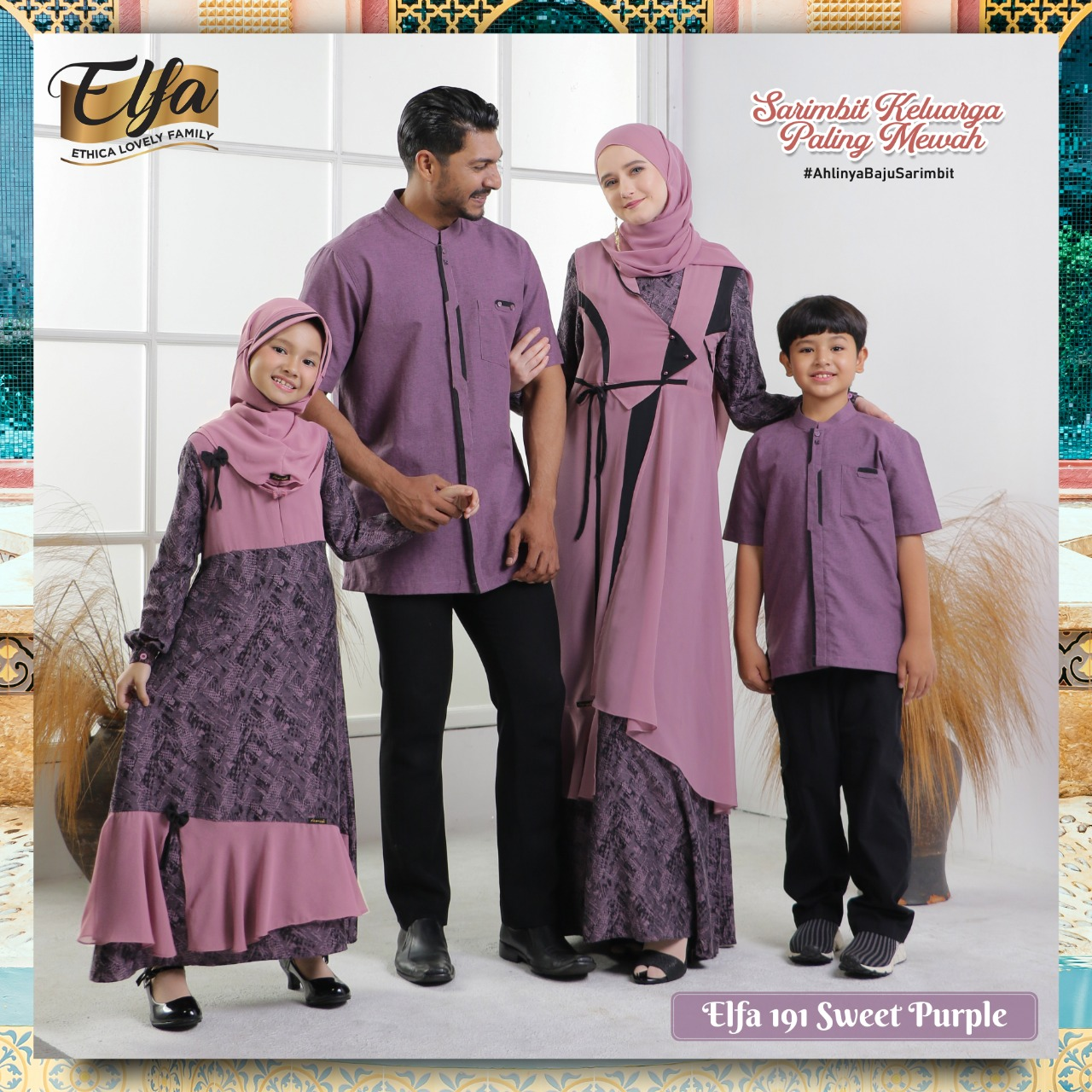Sarimbit Ethica Elfa 191 Sweet Purple