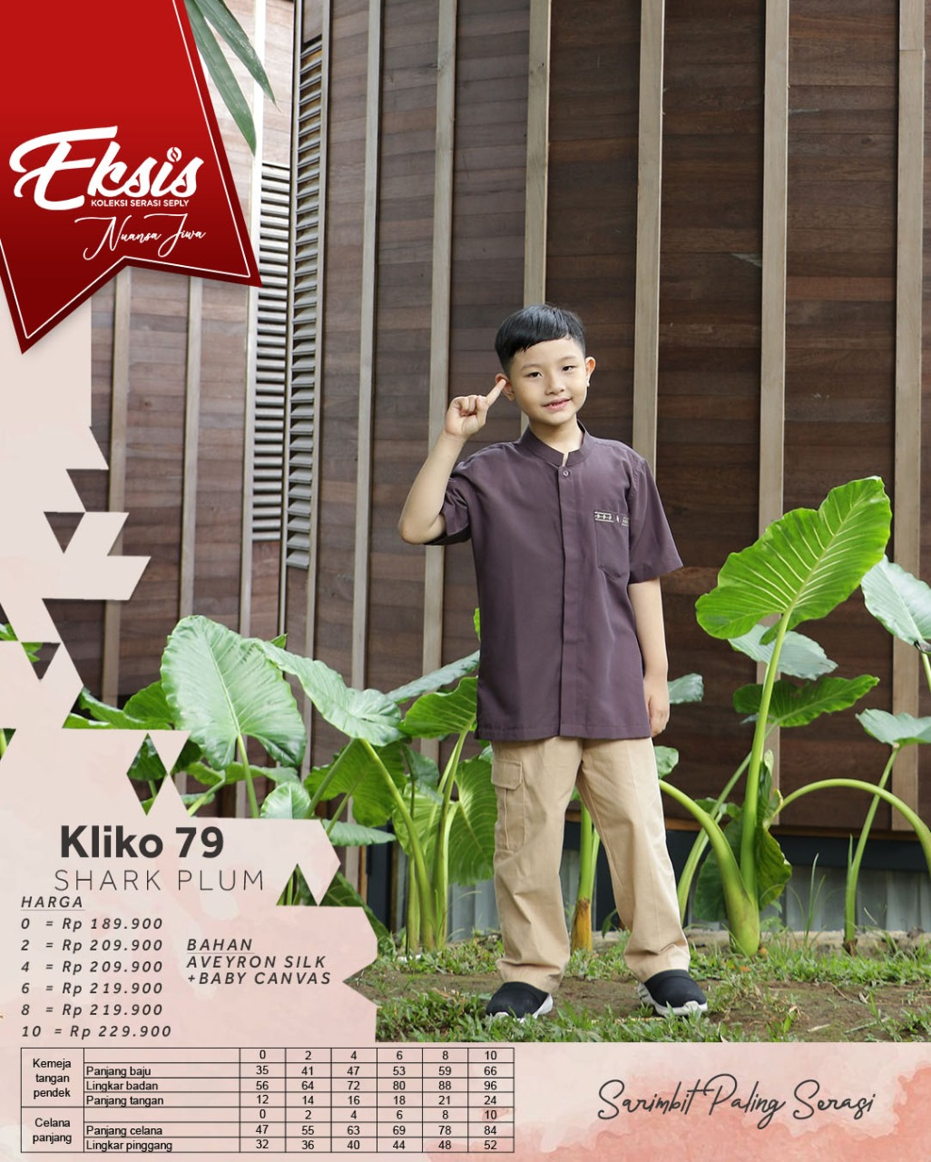 Koko Anak Seply Eksis 150 Shark Plum