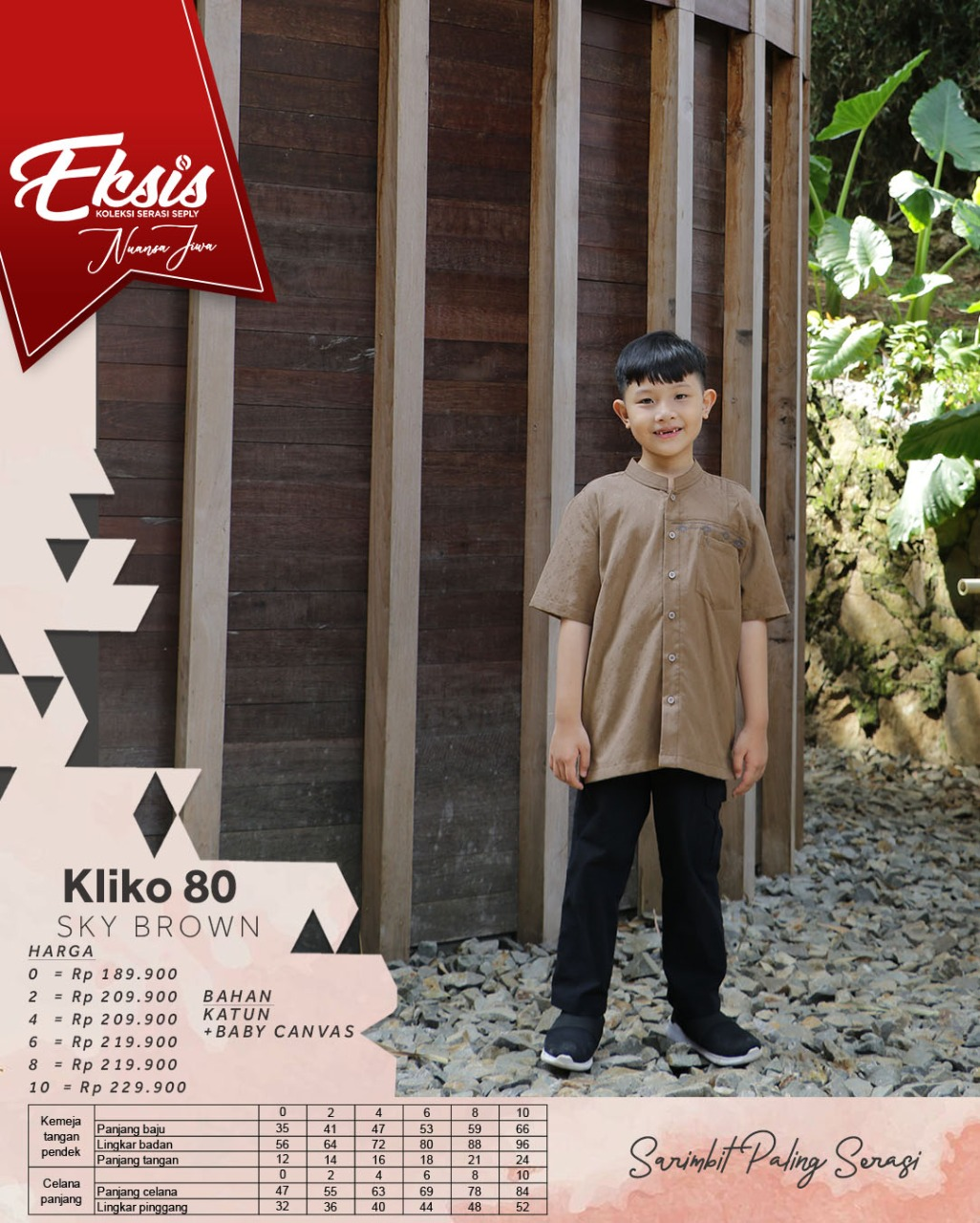 Koko Anak Seply Eksis 151 Sky Brown