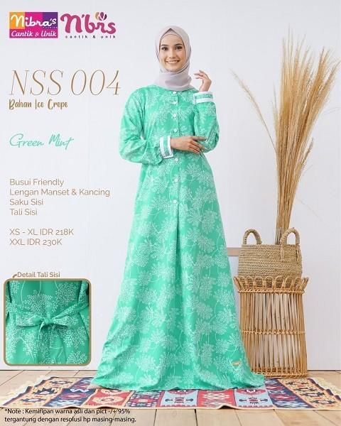 Gamis Nibras NSS 04 Tosca