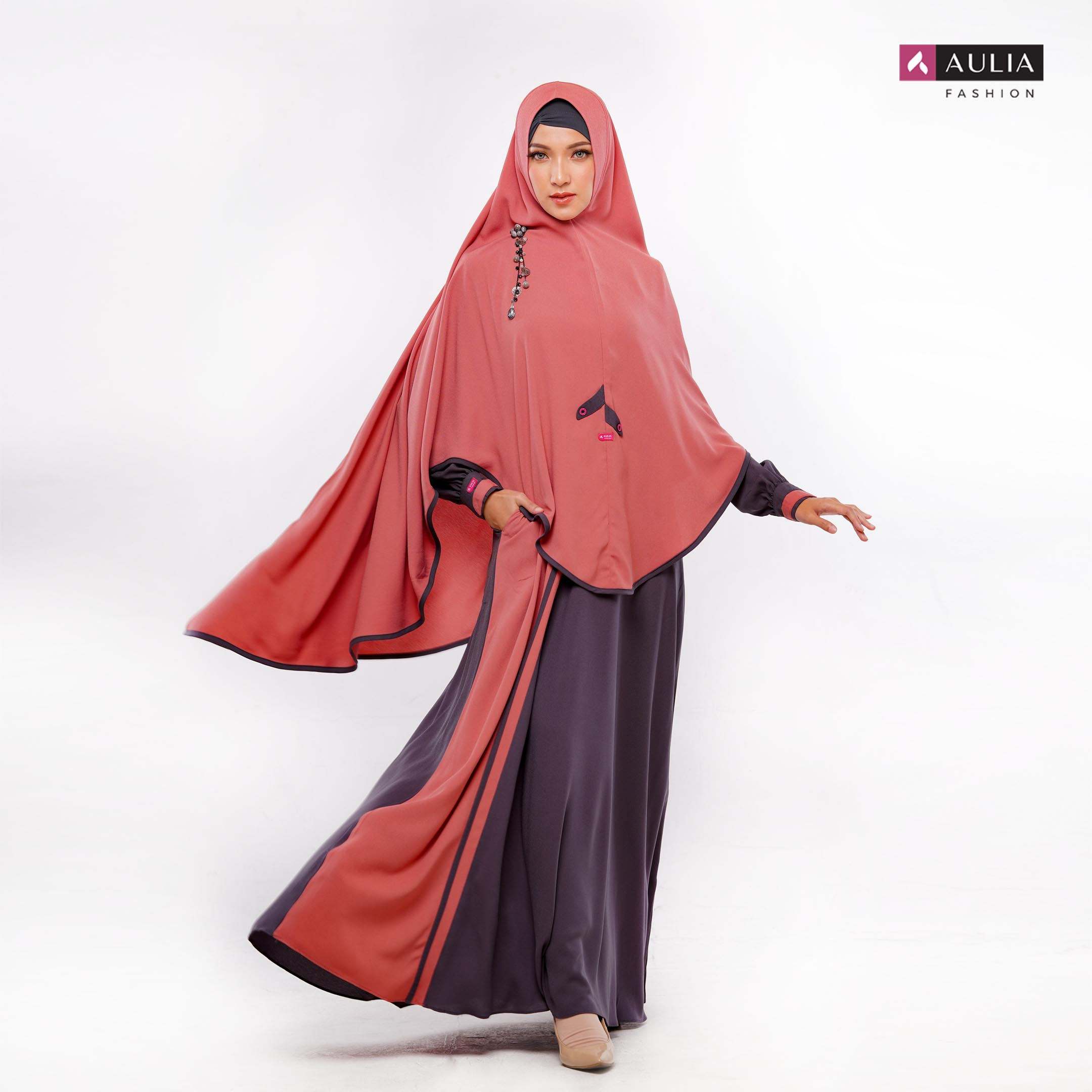 Set Gamis Irish Titanium Deepsea